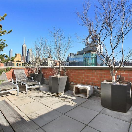 Open Views from the Rooftop Deck - 201 West 17th Street