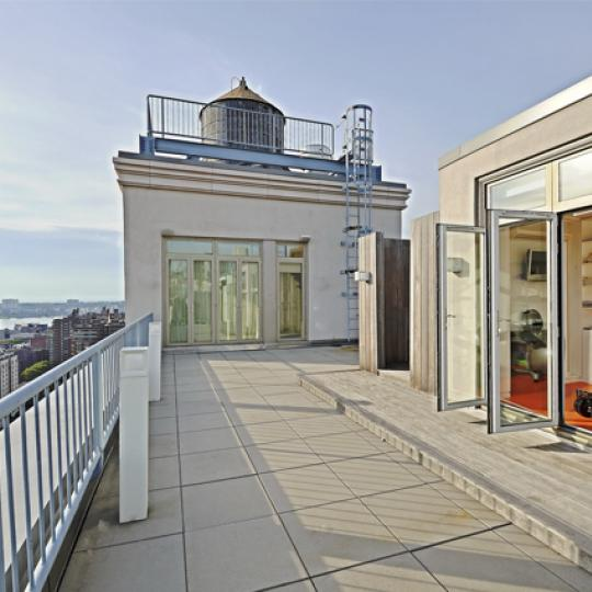 Rooftop Deck - Chelsea Mercantile Building - NYC Luxury Condos