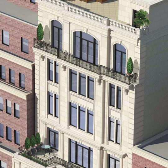 Rooftop Deck at 1110 Park Avenue- Condos for sale in Carnegie Hill
