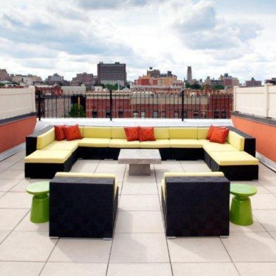 Rooftop Deck - 159 West 118th Street - Harlem