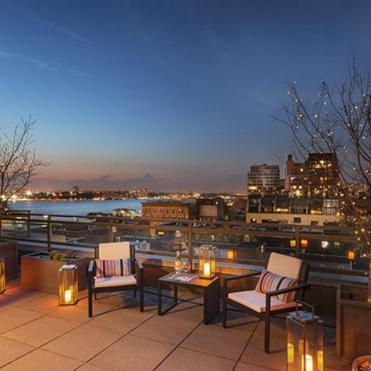 Rooftop Deck at Greenwich Village
