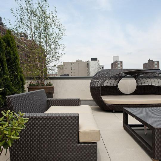 Rooft Deck at 305 W 16th Street - Chelsea Condos for Sale