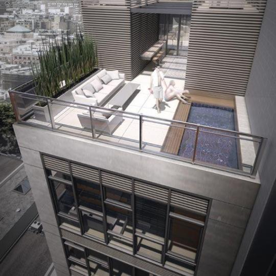Rooftop Deck-534 West 29th street- condo for sale in NYC