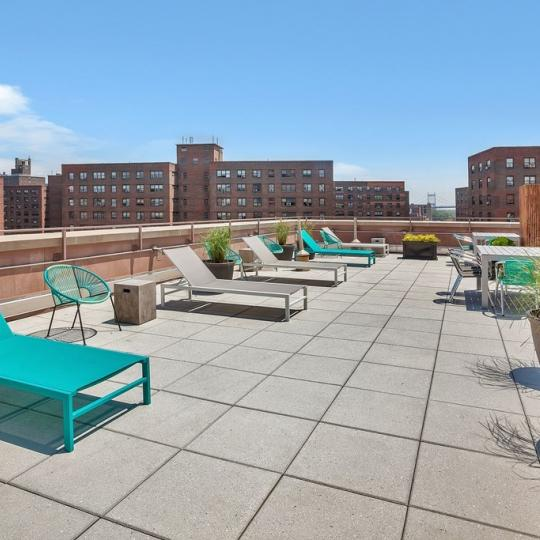 Open View from Rooftop Deck  at 1810 Third Avenue