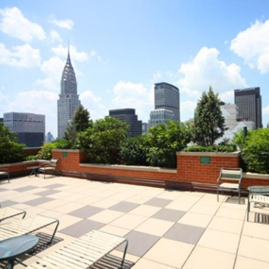 Rooftop Deck - NYC - Views of Manhattan - 236 East 47th Street