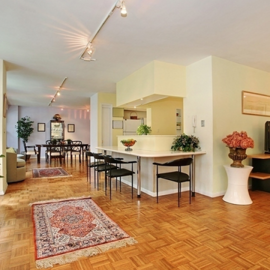 1199 Park Avenue Living Room- Carnegie Hill Condos For Sale