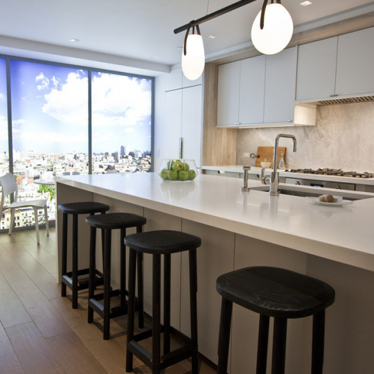 Kitchen - One Vandam - Condos - Soho