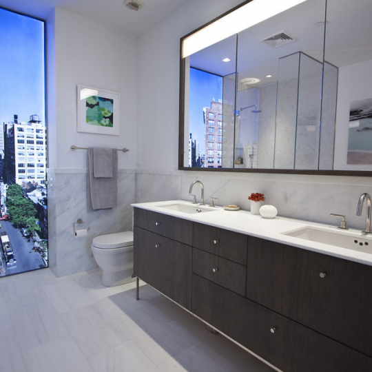 Bathroom - One Vandam - Condos - Soho