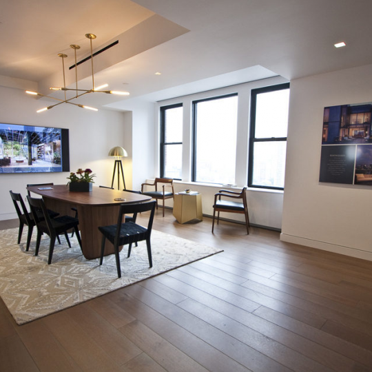Livingroom- One Vandam - Condos - Soho