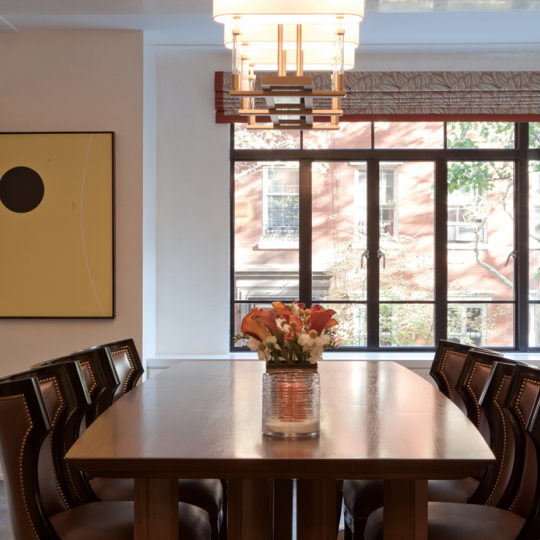 Living and dining area - 130 West 12th Street - Greenwich Village
