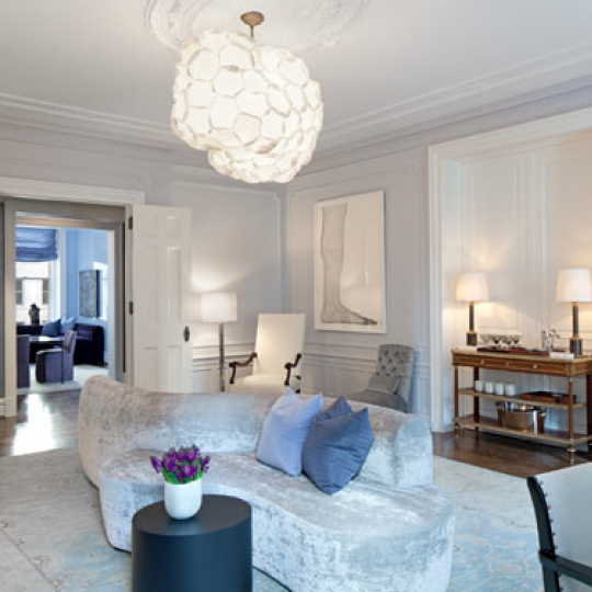 Livingroom - The Apthorp - Upper West Side
