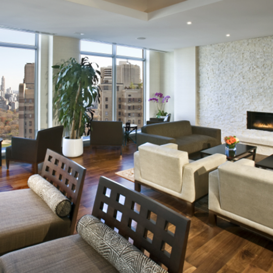 Livingroom - 30 Lincoln Plaza - Upper West Side