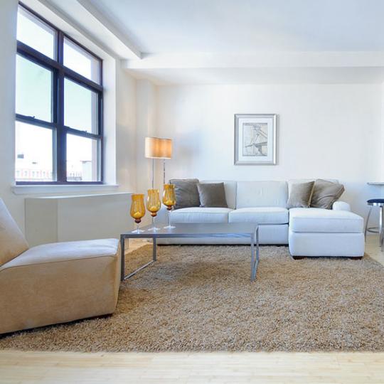 Livingroom - Delany Lofts - Harlem