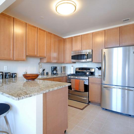Kitchen - Delany Lofts - Harlem