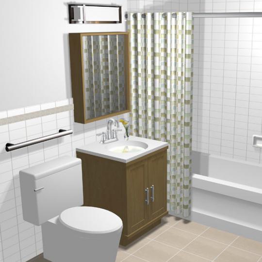 Bathroom - Delany Lofts - Harlem