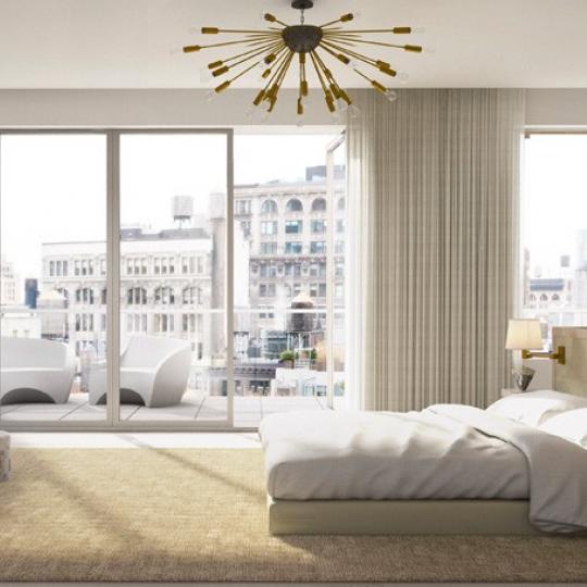 Bedroom - 21 West 20th Street - Flatiron District