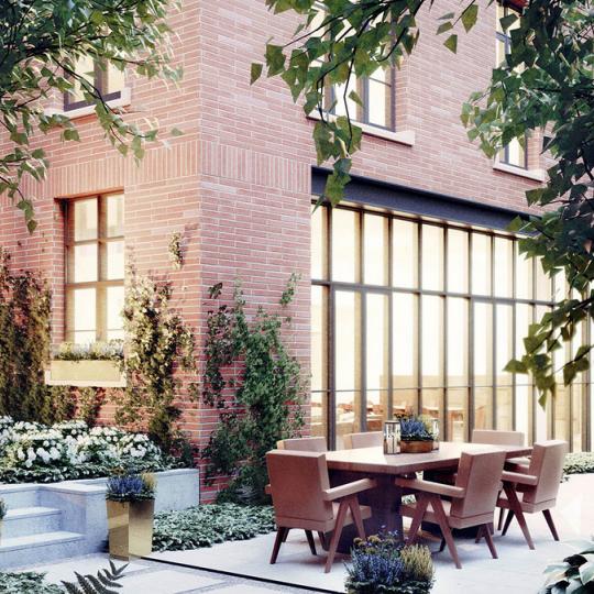 Terrace - 215 Sullivan - Greenwich Village