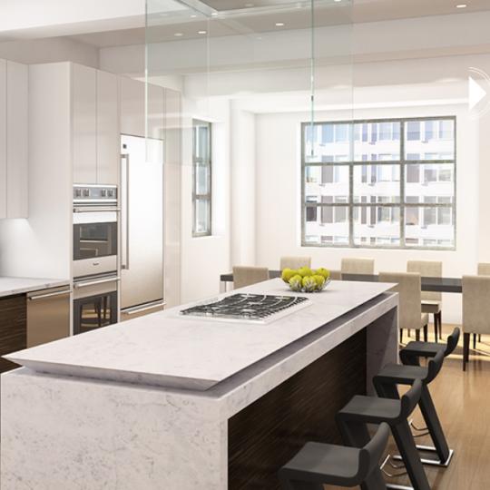 Kitchen - 449 Washington Street - Tribeca