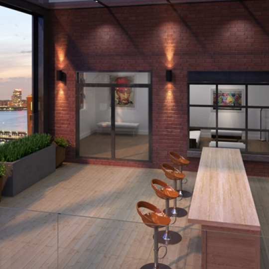 Terrace - 449 Washington Street - Tribeca