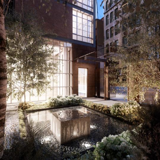 Courtyard - 215 Sullivan - Greenwich Village