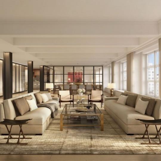 Livingroom - 12 East 13th Street - Greenwich Village