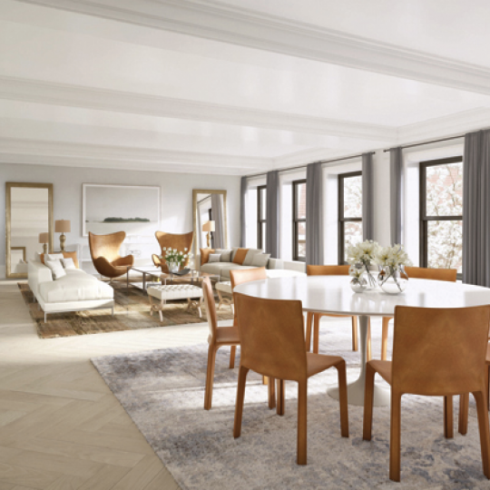 182 West 82nd Street Luxury Apartments for Sale NYC Living Room