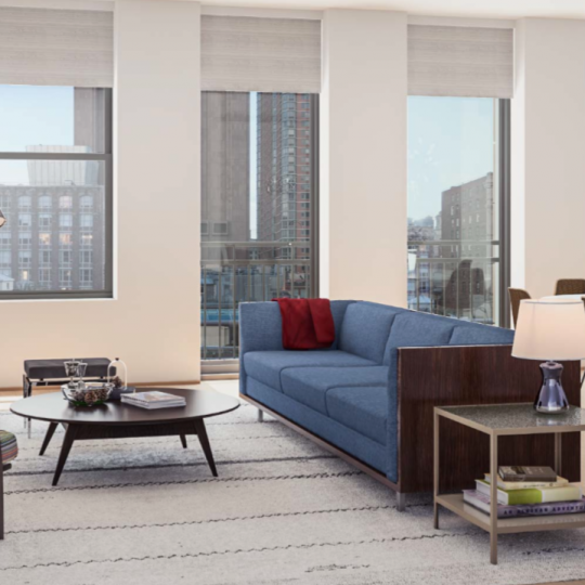 71 Reade Street Reade Chambers Building NYC Apartments for Sale Living Room