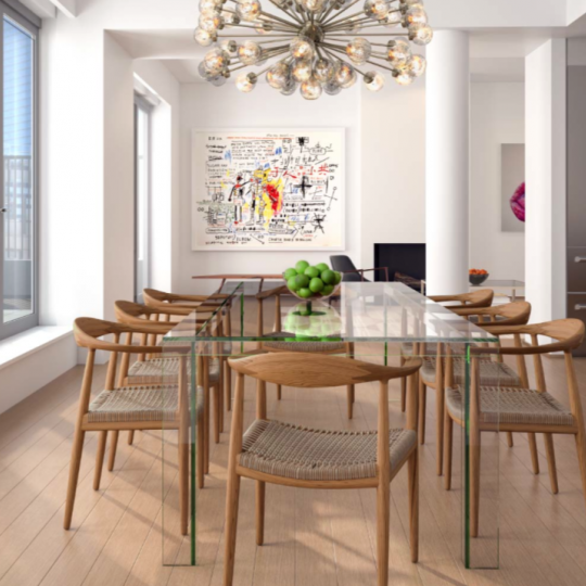 71 Reade Street Reade Chambers Building NYC Apartments for Sale Dining Room