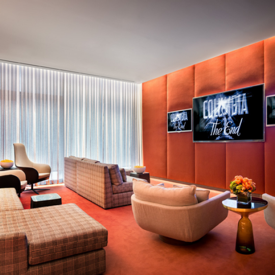 One Madison Park Manhattan Condos - Apartments for Sale in Nomad Screening Room