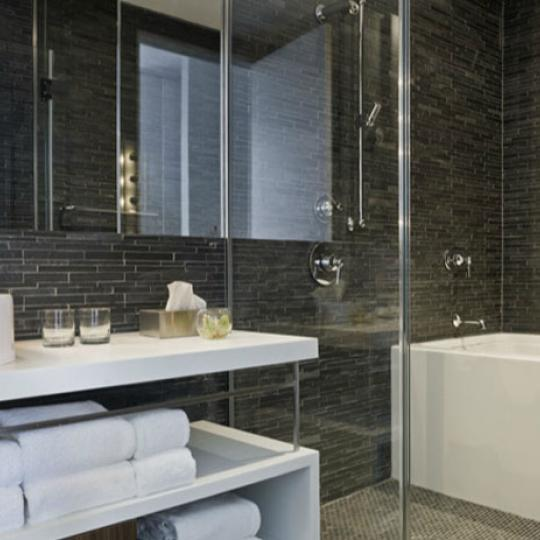 Bathroom - Smith Upstairs - Luxury Condos - Tribeca