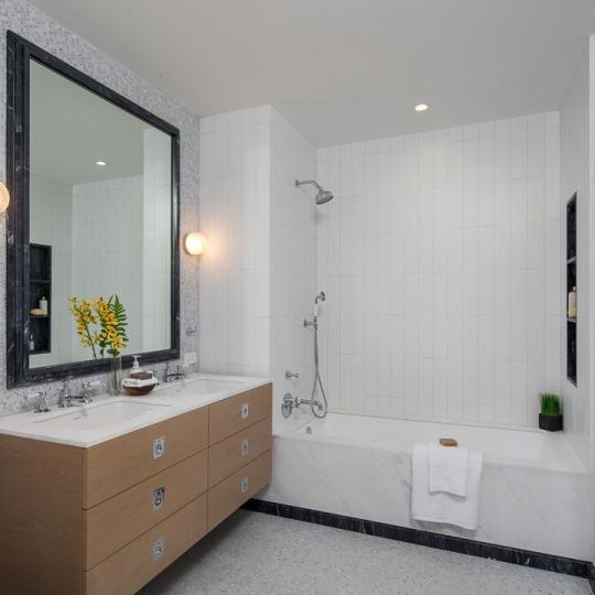 Bathroom at 438 East 12th Street in Manhattan - Apartments for sale