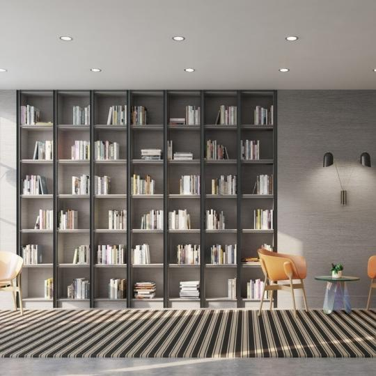 Library at Steiner East Village in NYC - Condos for sale