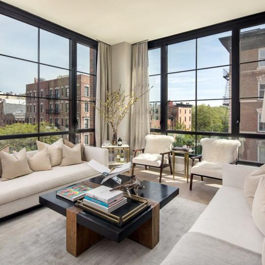 Living Room at Steiner East Village in Manhattan - Apartments for sale