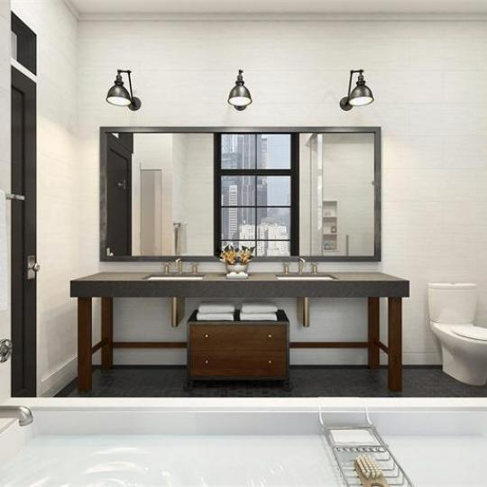 Bathroom- 435 West 50th Street- Condo for sale in Manhattan