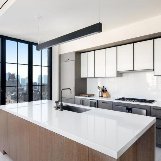 Open Kitchen at The Sutton in Manhattan - Condos for sale