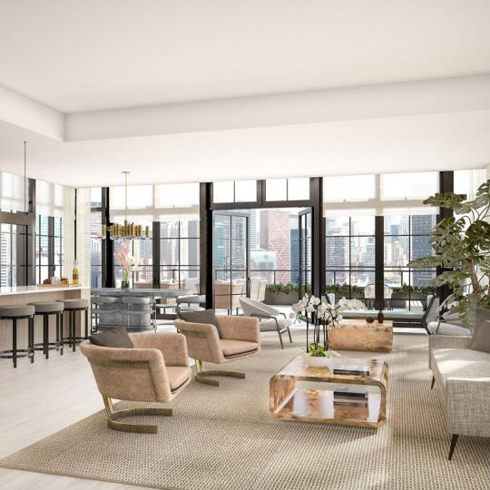 Apartments for sale at 959 First Avenue in Turtle Bay - Living Area