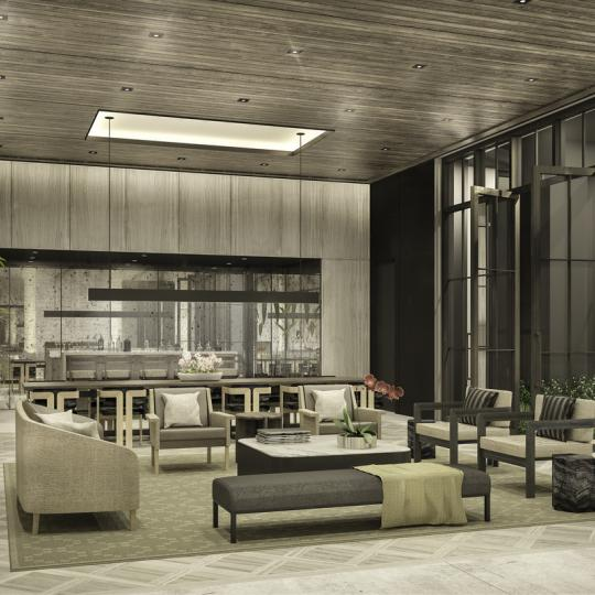 Lounge at The Sutton in NYC - Condos for sale