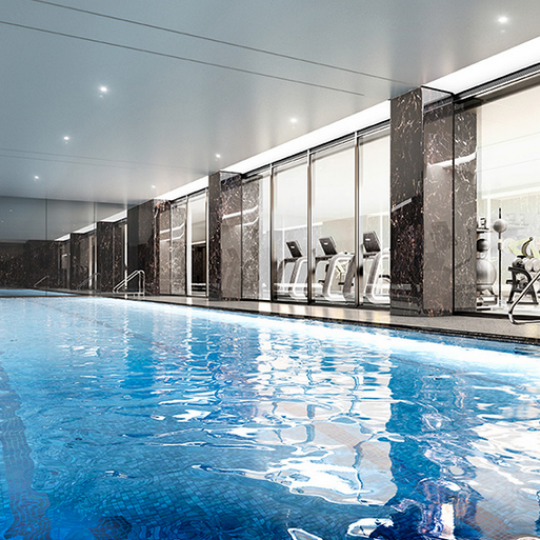Swimming Pool, Fitness Center- 50 United Nations Plaza