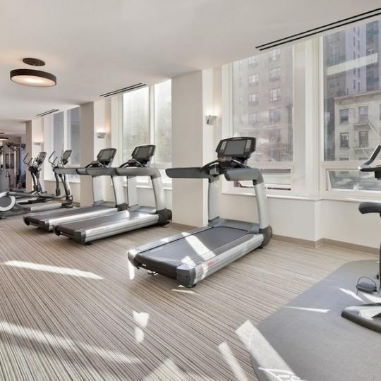 Tempo Fitness center - Manhattan Condominiums for Sale