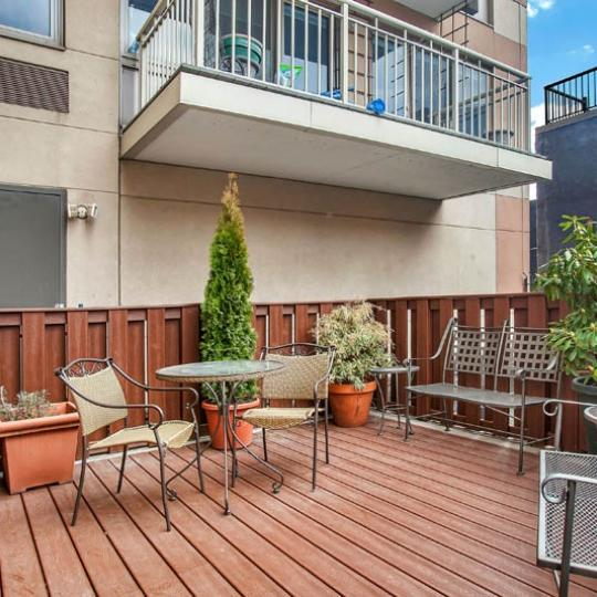 Condos for sale at 240 East 10th Street - Terrace