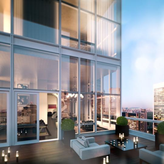 Terrace - The Baccarat Hotel and Residences - Midtown West