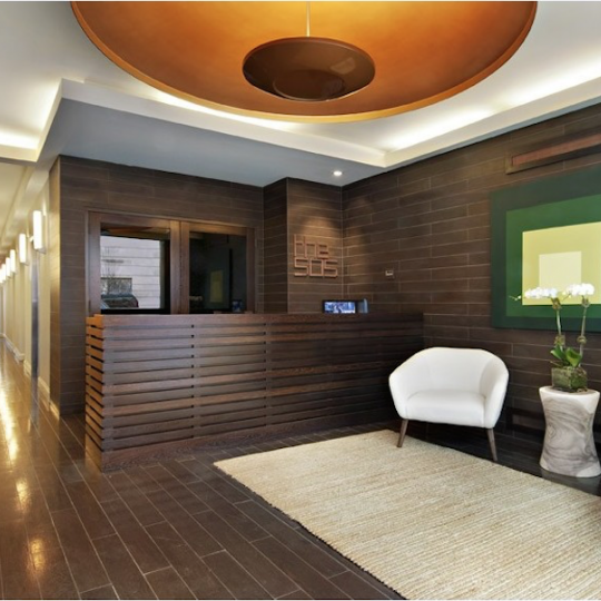 505 West 47th Street NYC Condos - lobby at The 505