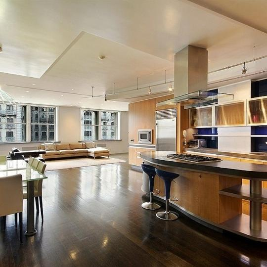 The Apple Bank Building - kitchen - Upper West Side Apartments For Sale