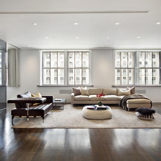 The Apple Bank Building - living room - Upper West Side Apartments For Sale