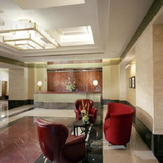 The Downtown Club NYC Condos - lobby - 20 West Street Apartments for Sale