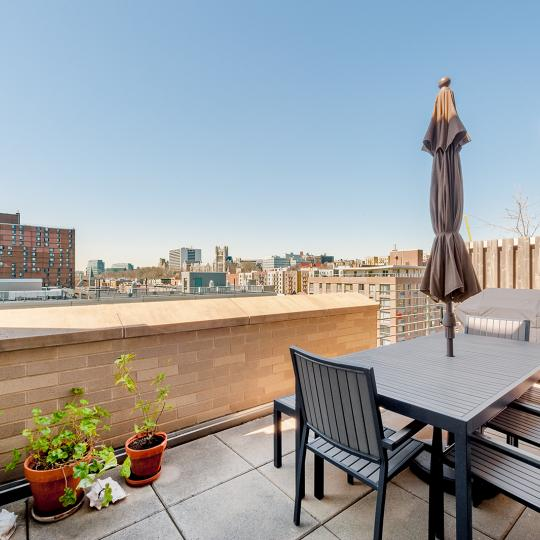 The Langston Balcony - Manhattan Condos for Sale