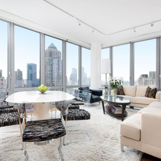 The Link Living Room - Manhattan Condos for Sale