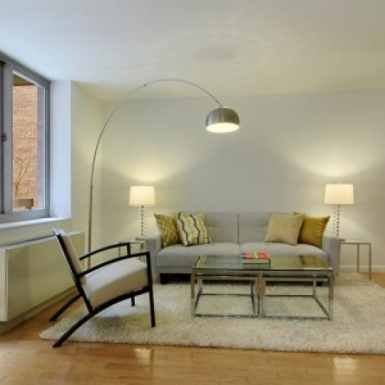 Living Room- 520 West 23rd Street- condo for sale in Chelsea