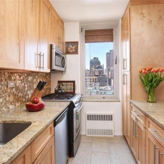 Kitchen at The Monarch in NYC - Apartments for sale