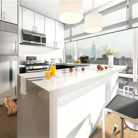 Kitchen- The Prospect Building- 825 Classon Avenue- apartment for sale in NYC
